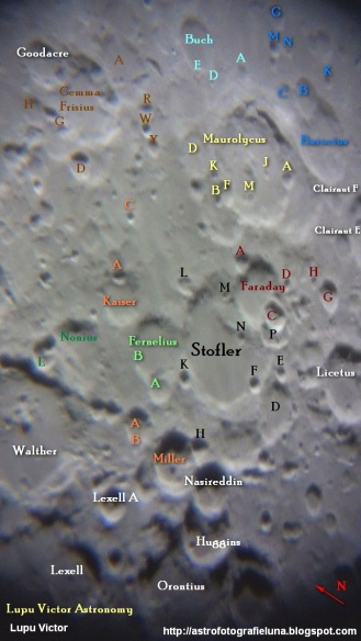 description location stofler maurolycus craters 29042012